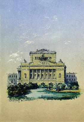 The Alexander Theatre in St. Petersburg