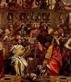 The wedding to Kanaa. Detail: Group of musicians