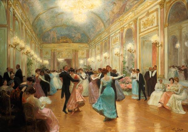 Image: Victor Gabriel Gilbert - Ball scene