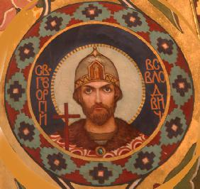Saint Georgy II Vsevolodovich (1189-1238), Grand Prince of Vladimir