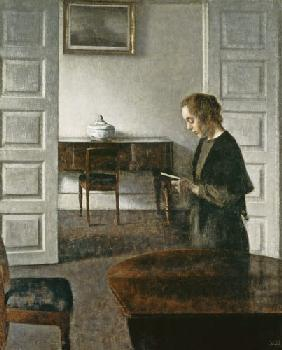 Interior with a Lady Reading