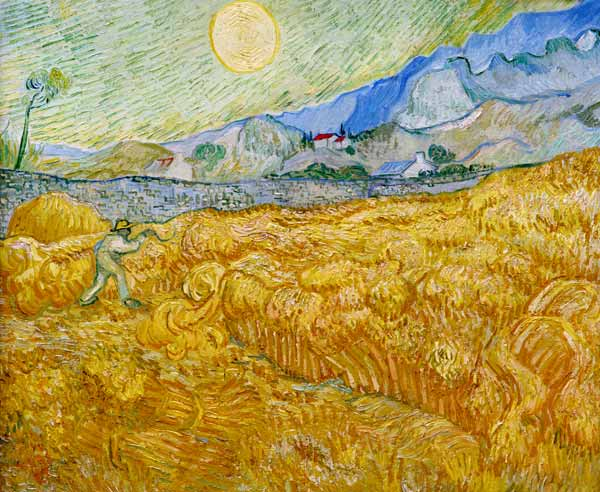 Image: Vincent van Gogh - The Harvester