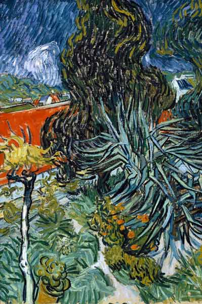 Van Gogh Dr Gachet S Garden 1890 Vincent Van Gogh As Art Print Or Hand Painted Oil