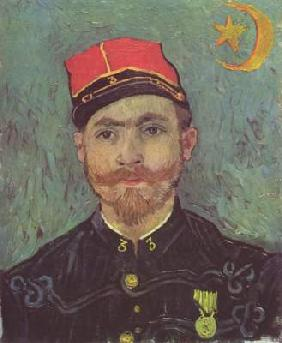 Portrait of the second lieutenant Milliet