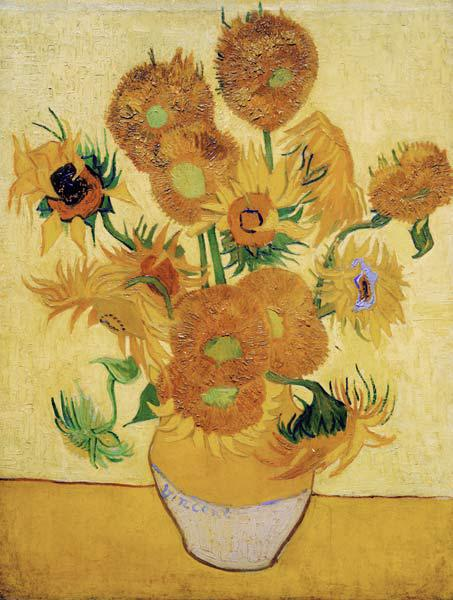 The Sunflowers 1889