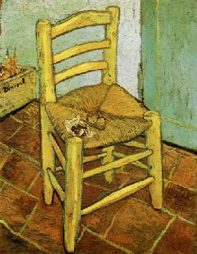 Vincent's chair with pipe