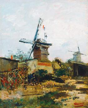 Windmills on Montmartre