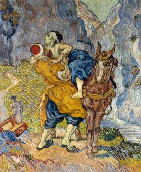The Good Samaritan (after Delacroix)