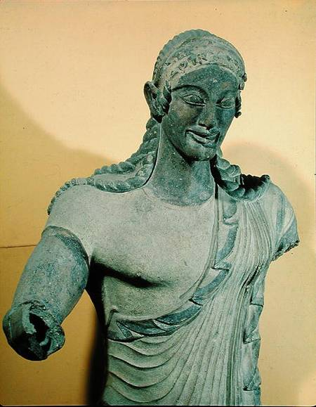 Apollo Of Veii From The Temple Of Miner Vulca As Art