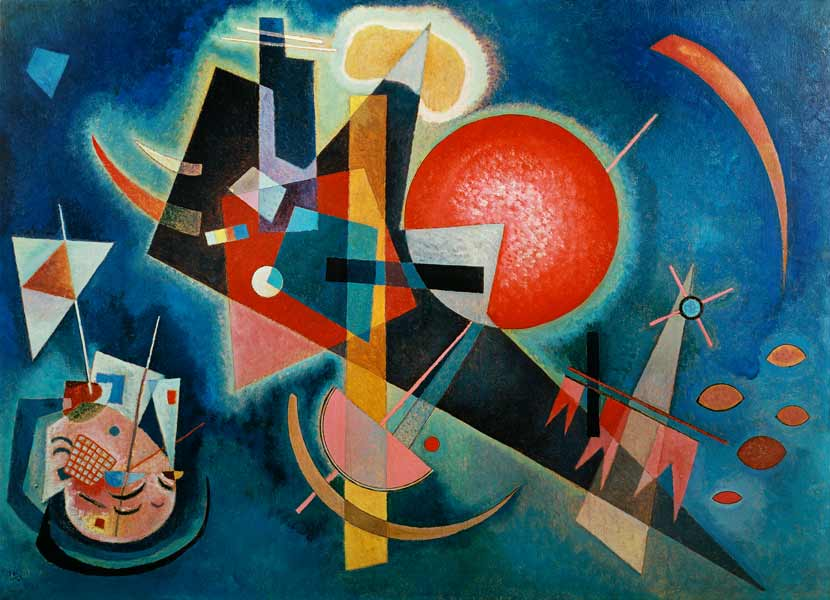 Wassily Kandinsky Blue Painting | www.imgkid.com - The ...