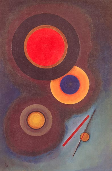 Composition With Circles And Lines Wassily Kandinsky As