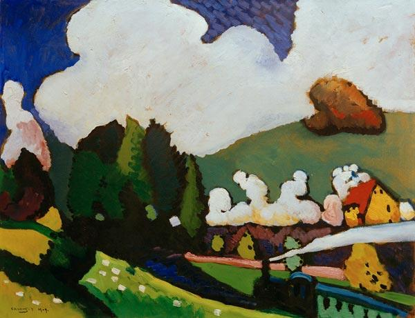 Landscape with Locomotive