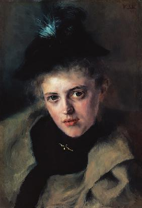 Portrait of Mrs Apotheker Rieder