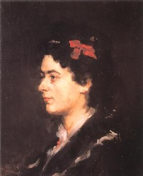 Portrait of Mrs Helene Auspitz