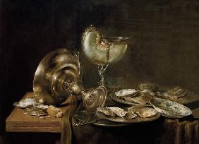 Heda , Still-life with Nautilus Cup