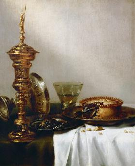 Breakfast still-life with chalice, 1634.