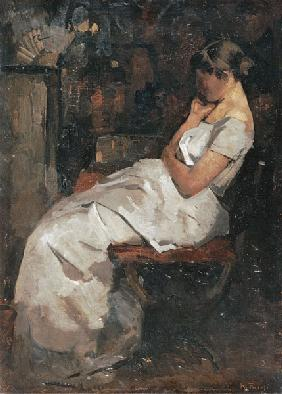 Girl in White