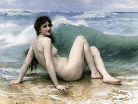 La Vague, 1896 (oil on canvas)