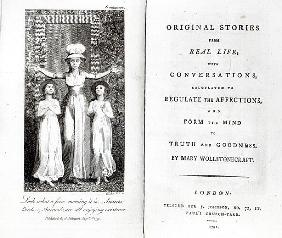 Frontispiece to ''Original Stories from Real Life'' Mary Wollstonecraft