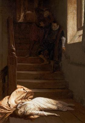 The Death of Amy Robsart in 1560