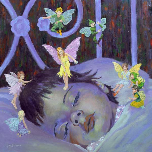 Sweet Dreams (oil on board)