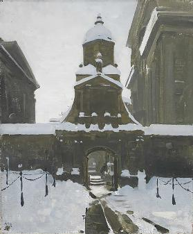 The Gate of Honour under Snow, 1924