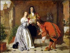 Scene from Moliere's 'The Would-be Gentleman'