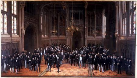 Members' Lobby, Houses of Parl...