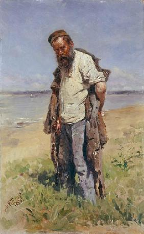 Man at a river