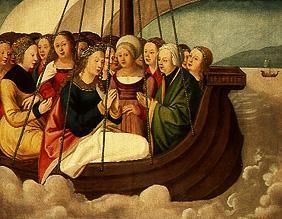 The ship of St. Ursula with the eleven thousand virgins